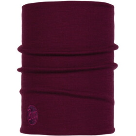 Buff Heavyweight Merino Wool Tubo de cuello, purple raspberry